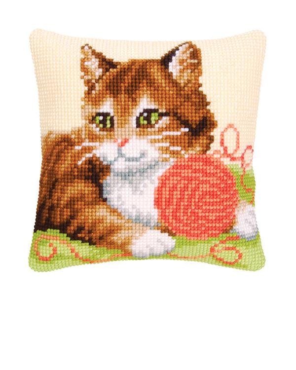 Kissen Verspielte Katze