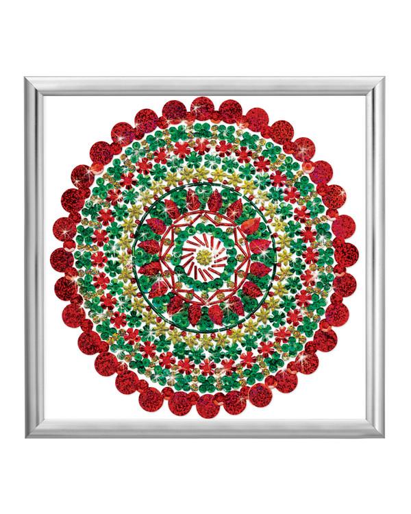 Zendazzle Rød/grønn Mandala