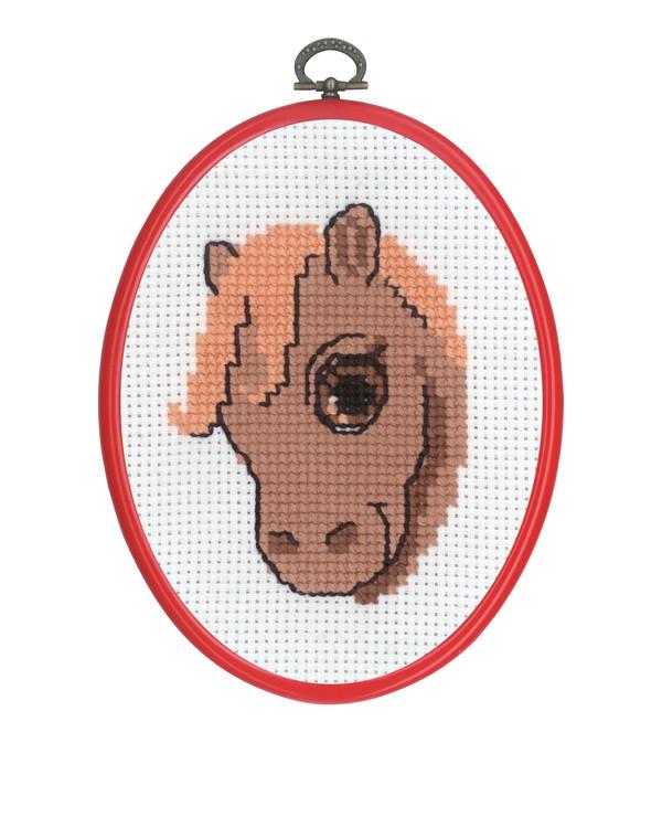 Broderikit Flexitavla Häst