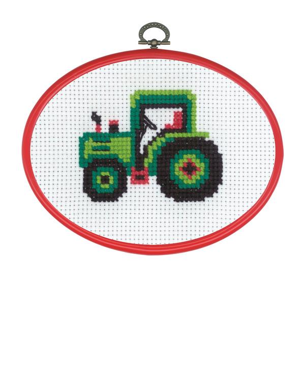 Broderikit Flexitavla Traktor