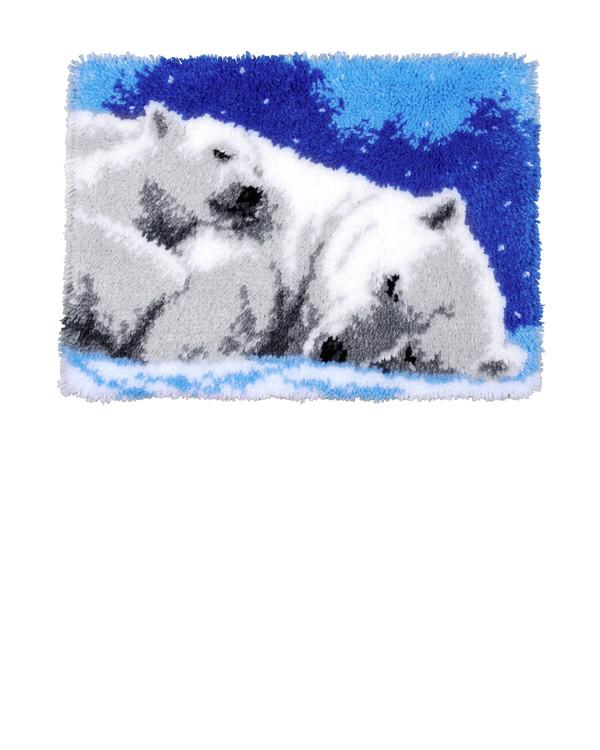 Ryijymatto Jääkarhut
