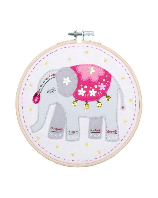 Huopakirjomus Elefantti