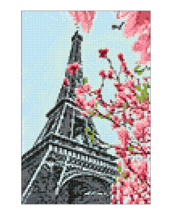 Diamond painting Paris