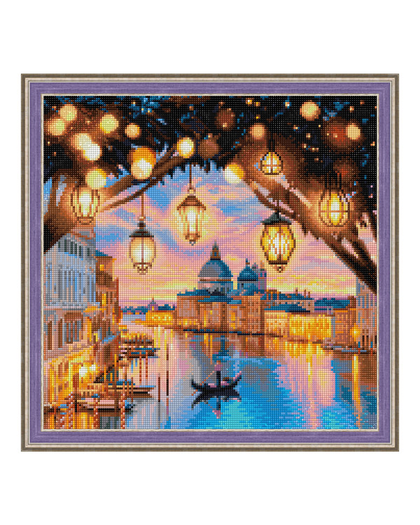 Diamond painting Aften i Venedig