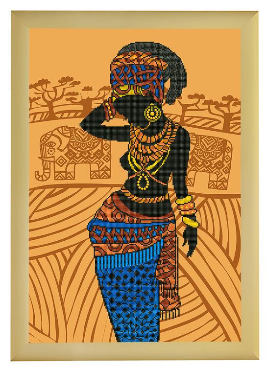 Diamond Dotz Afrikansk prinsessa
