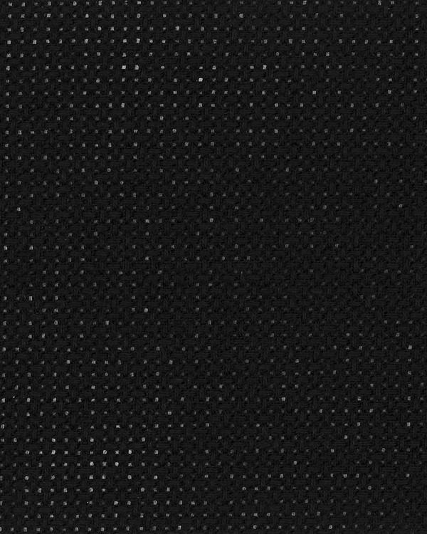Väv Aida svart 7,2 rutor/cm