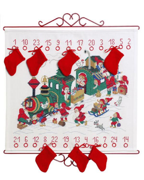Broderipakke Kalender Julegavetoget