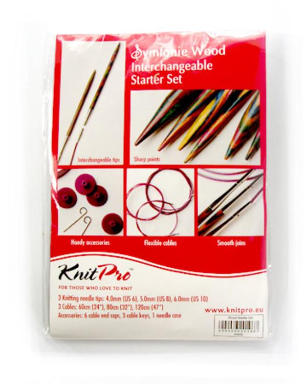 Knitpro Rundpe 3-pak 4-6 mm