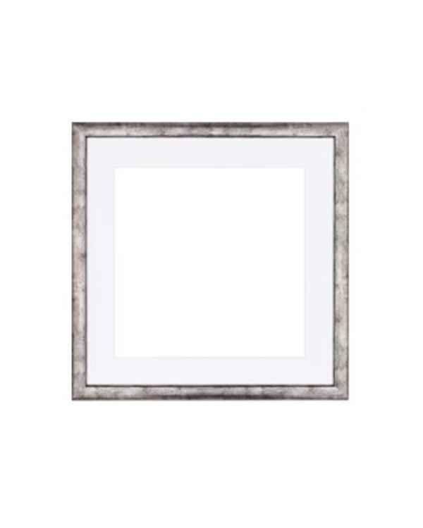 Ramme sølvgrå 30x30 cm med pp