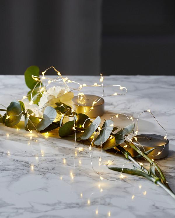 LED-valoköynnös Dew Drop 40 lamppua
