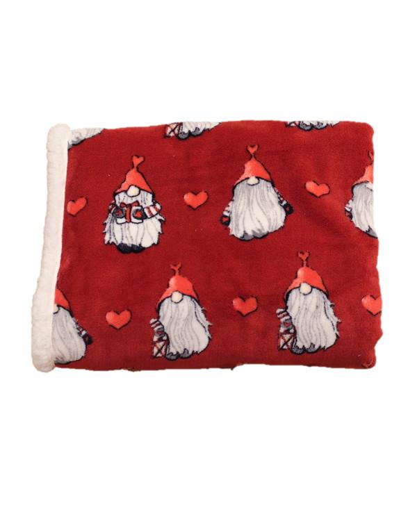Fleecehuopa Noel punainen