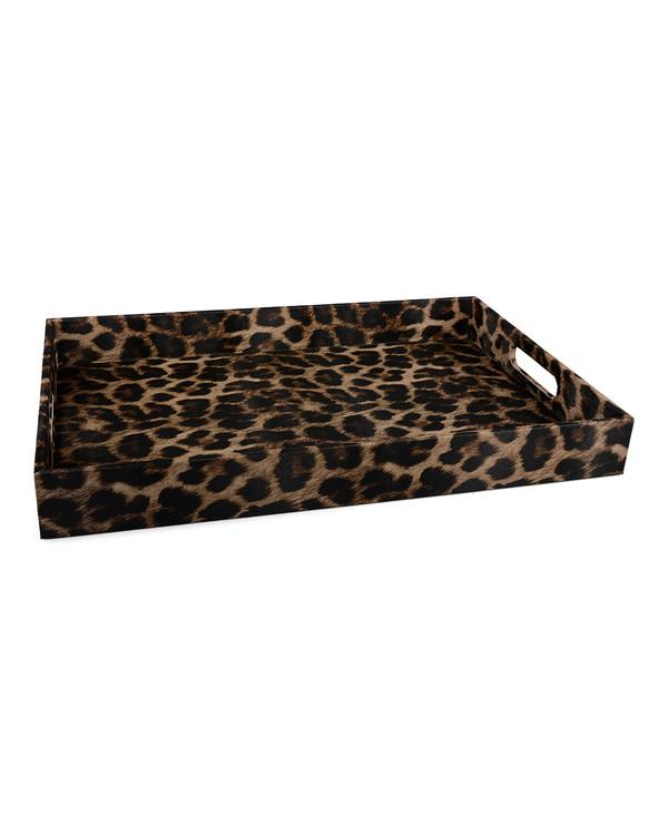Bricka Leopard rektangulär