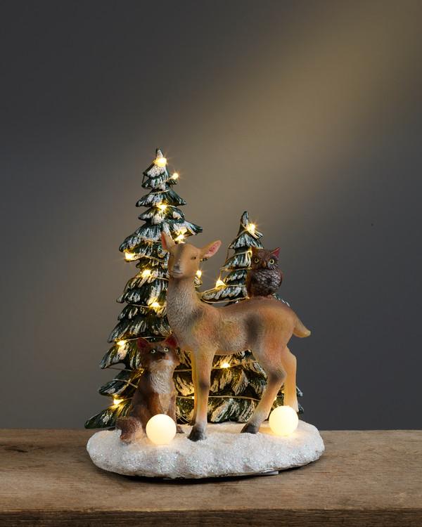 Weihnachtsdeko Waldtiere