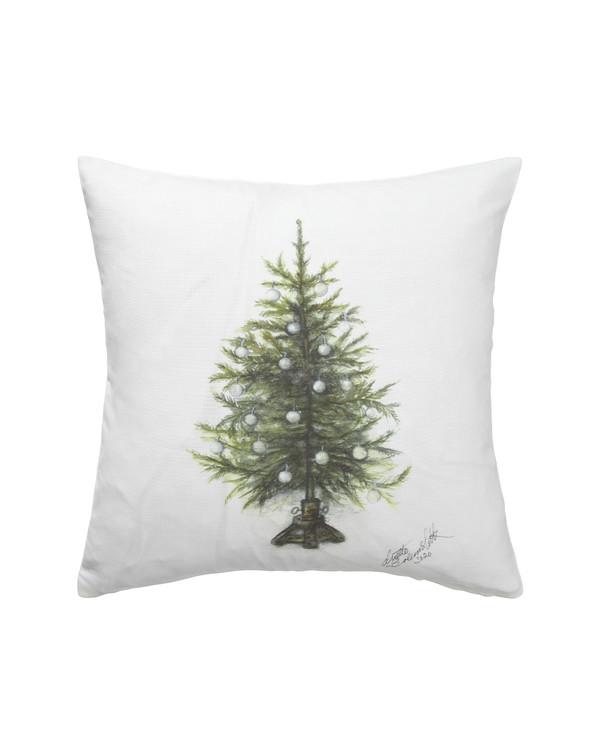 Tyynynpäällinen Joulu Kuusi, 1 kpl/pakkaus