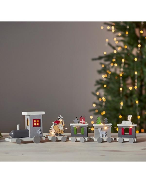 Juldekoration Tågresan