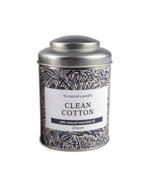 Duftlys Clean Cotton