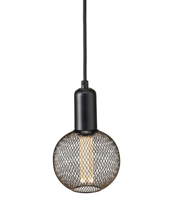 Fönsterlampa rund Grid