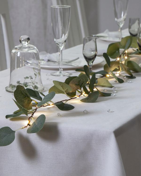 Star Trading LED Girlang Eukalyptus
