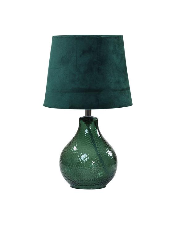 Bordlampe Julia Fløyel Grønn