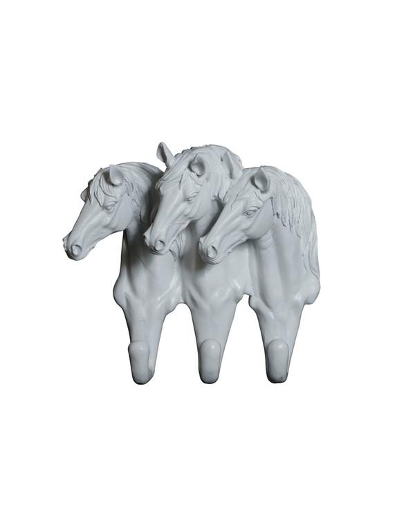 Veggkrok Hest