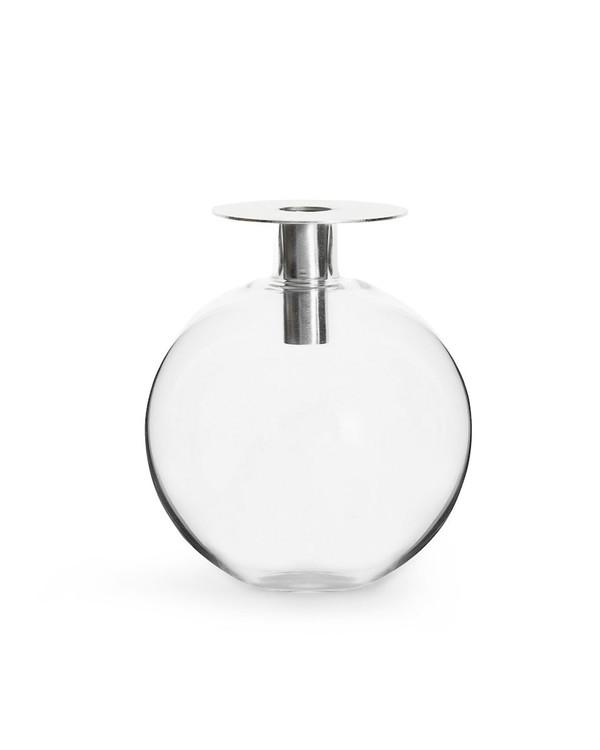 Top Vase Sølv