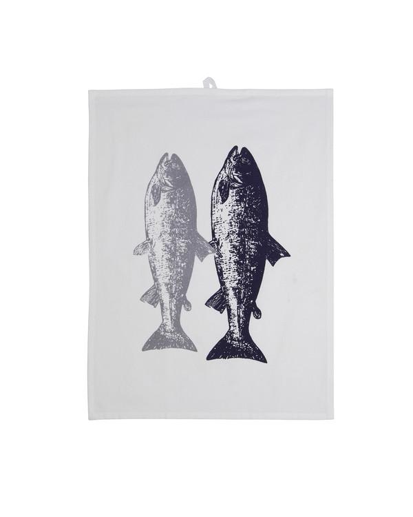 Kökshandduk Fisk 1-pack