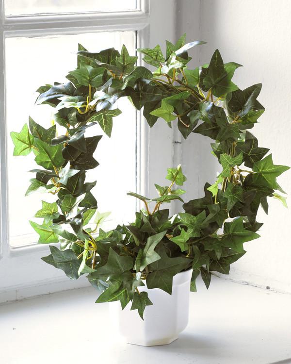 Konstväxt Murgröna på båge 35cm