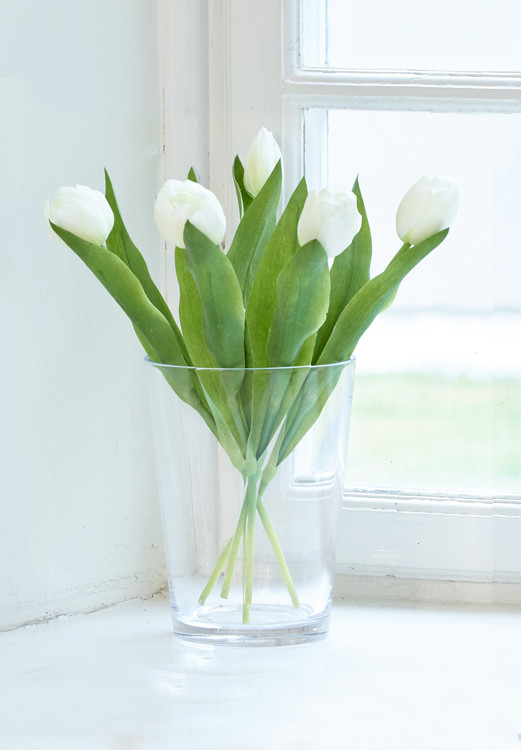 Kunstplante Tulipan 5-pk