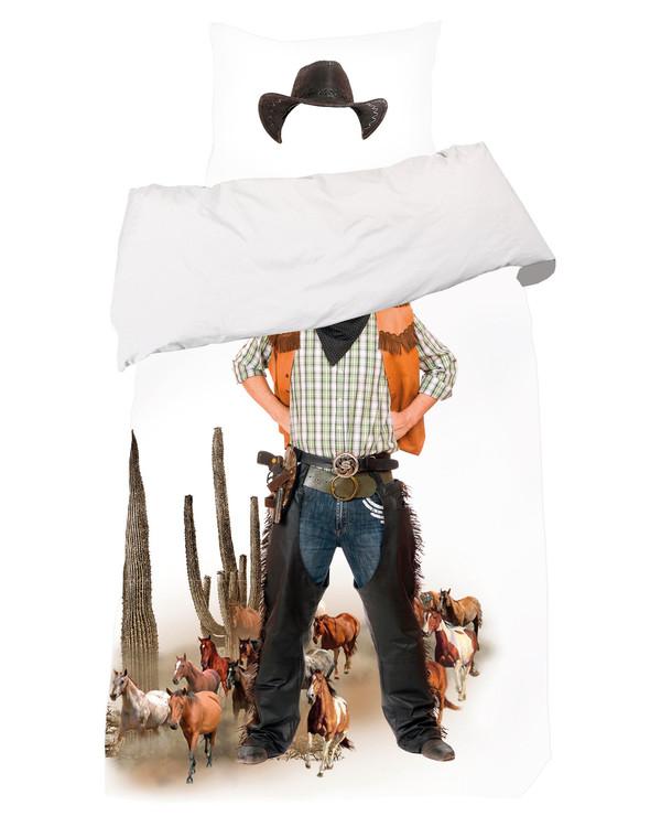Påslakanset Cowboy 2 delar