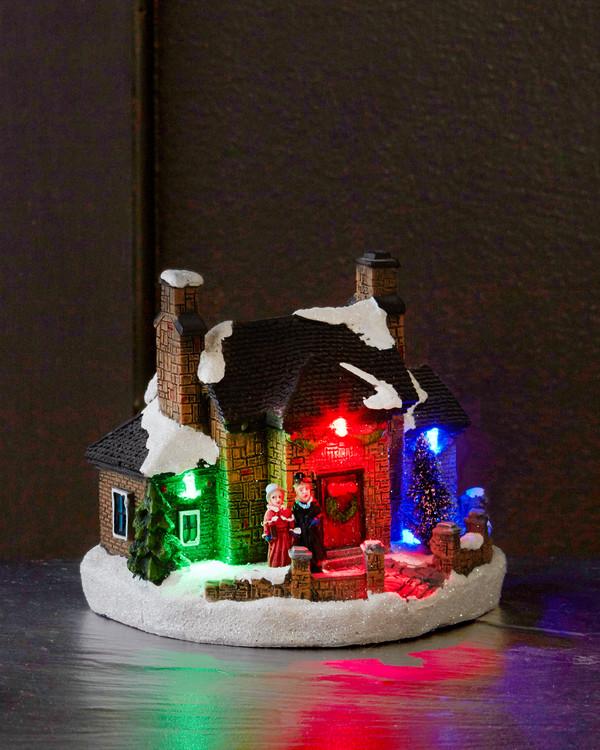 Juledekorasjon Hus