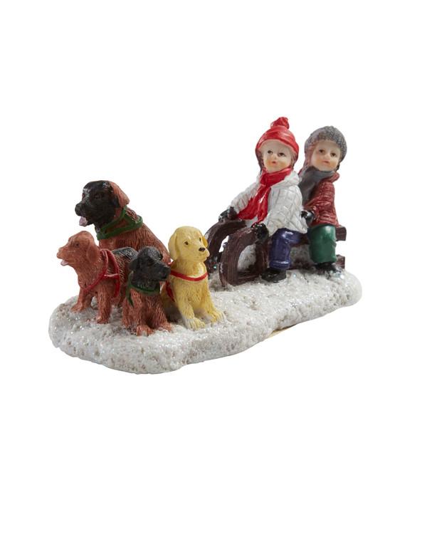 Juldekoration Vinterbarn