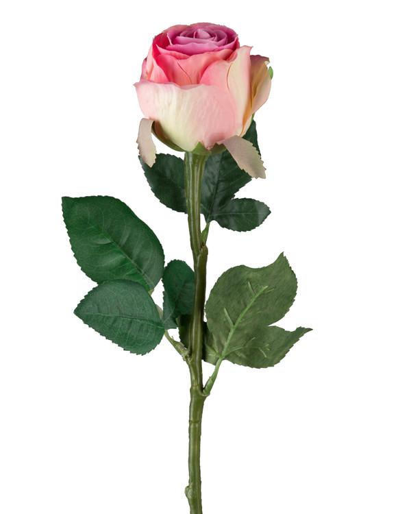 Kunstplante Rose 3-pk