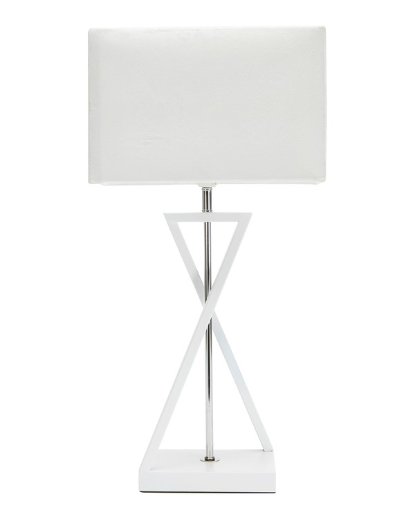Bordslampa Cross vit