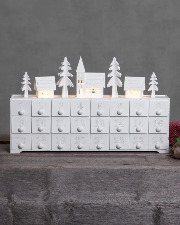 Borddekorasjon/kalender Juletider