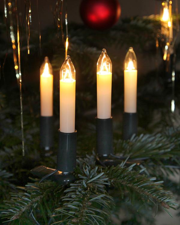 Juletrebelysning 16 lys