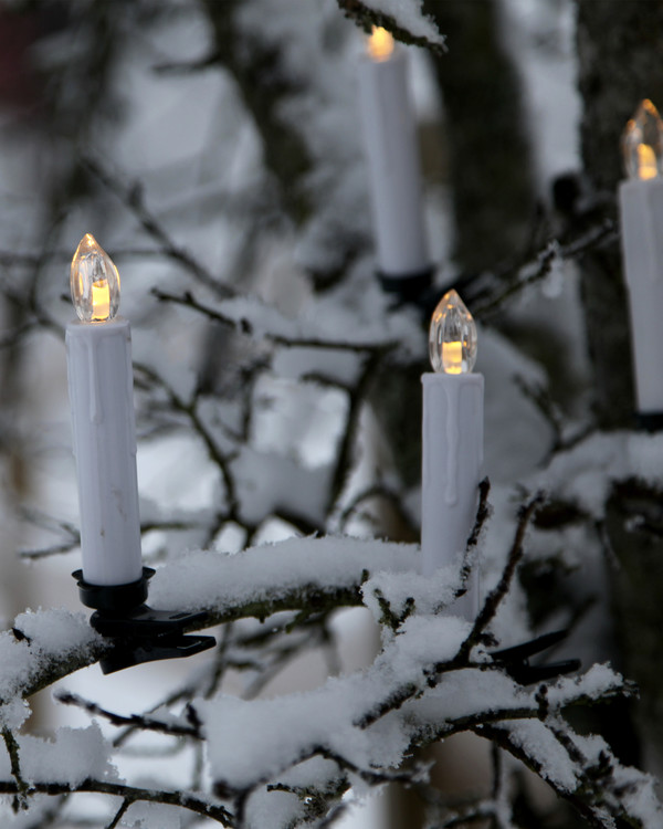 Juletrebelysning 10 lys
