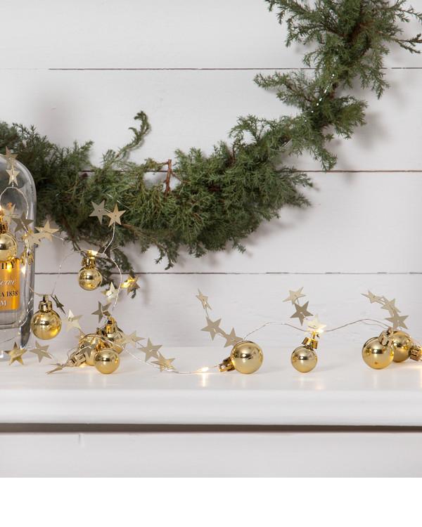 Star Trading Ljusslinga Christmas guld