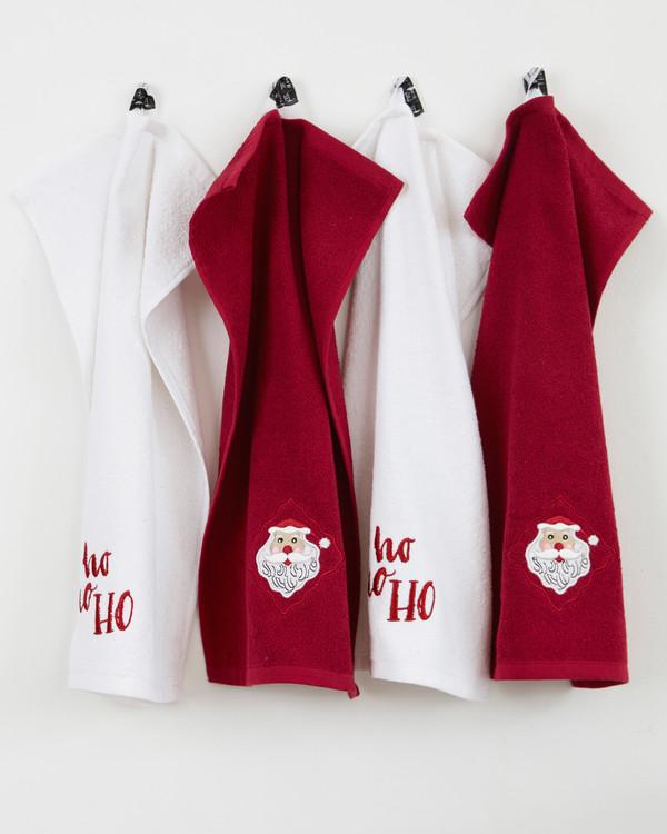 Gæstehåndklæder 4-pak