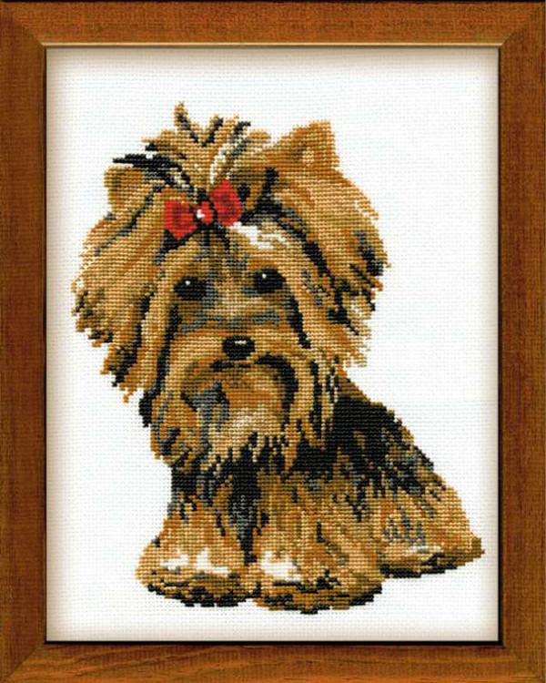 Broderikit Tavla Yorkshire Terrier