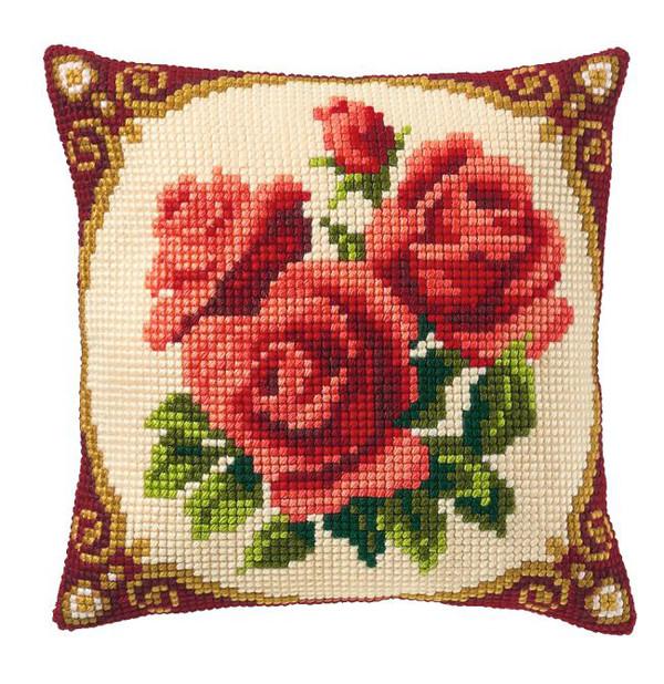 Tyynynpäällinen Ruusut