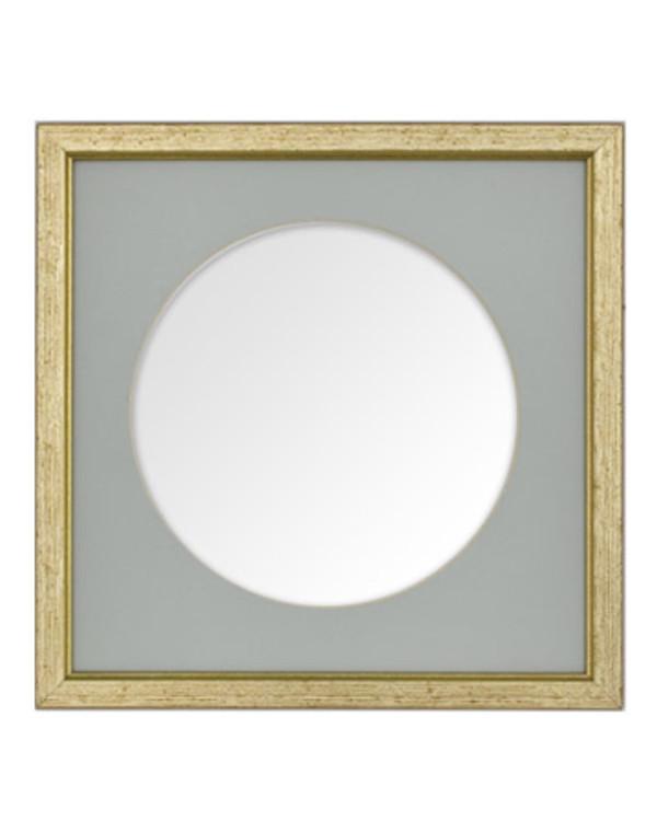 Ramme gull 22x22 cm med pp